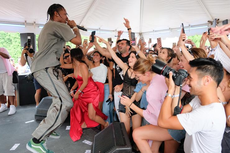 Forty-Two Travis Scott References Dropped During Sportscast