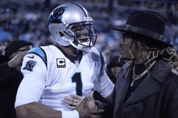 Future with Cam Newton
