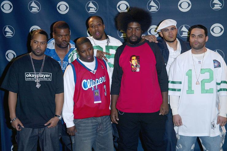 The Roots at the 45th annual Grammys