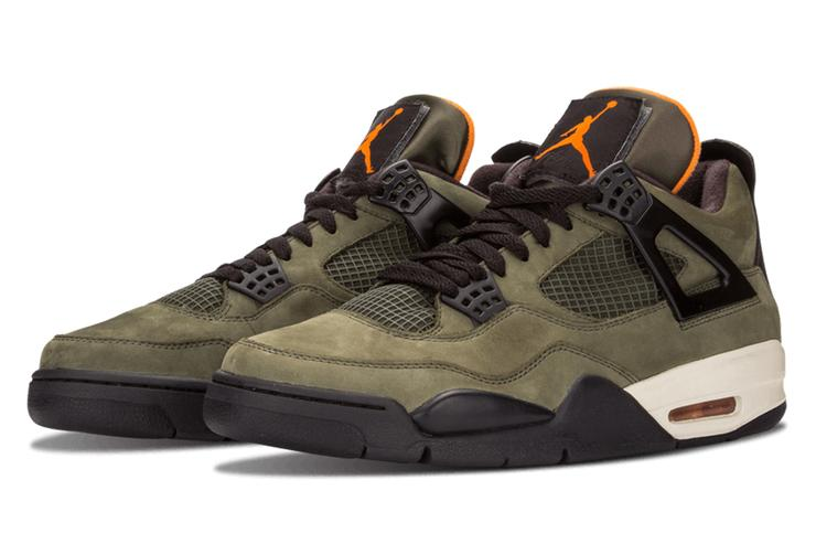 2. Undefeated x Air Jordan 4 Retro