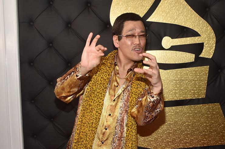 Singer Piko Taro attends The 59th GRAMMY Awards at STAPLES Center on February 12, 2017 in Los Angeles, California.