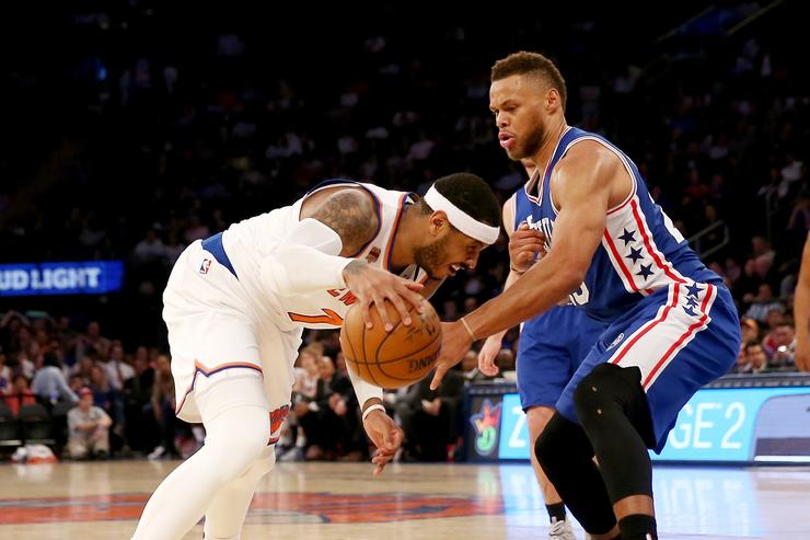 Kristaps Porzingis Hopes Carmelo Anthony Stays With Knicks Amid Trade Rumors