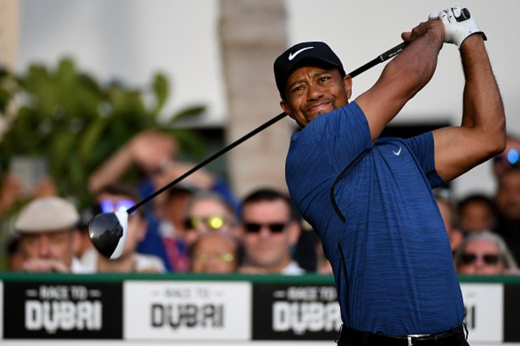 Tiger Woods denies news report about relationship status
