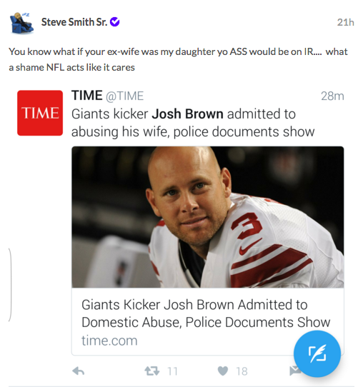 National Football League reopen Brown investigation, Brown not going to London