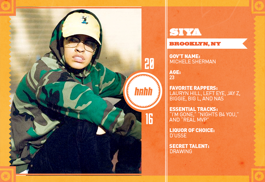 Meet Siya: Brooklyn Girl With A Chip On Her Shoulder