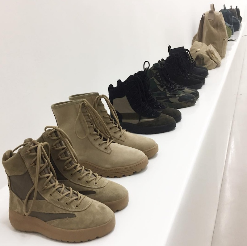 248f0019 Preview some of the Yeezy Season 5 boots.
