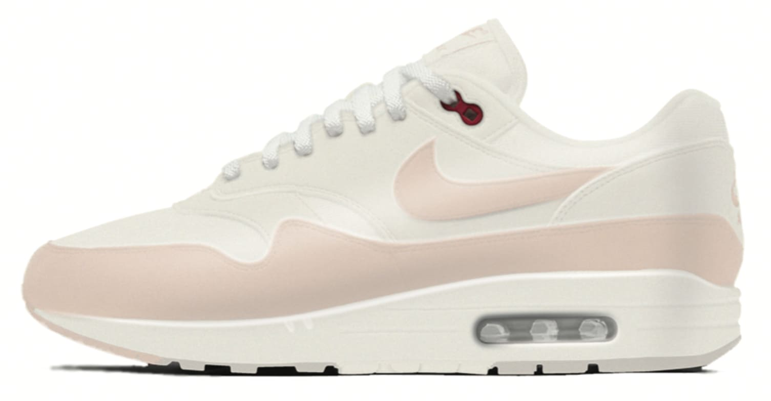 best service b6c2e 8777d ... wrapping their shoes in plastic, as well as the morning fog at Nike  WHQ. It places transparent material on the upper of the OG red and white Air  Max 1.