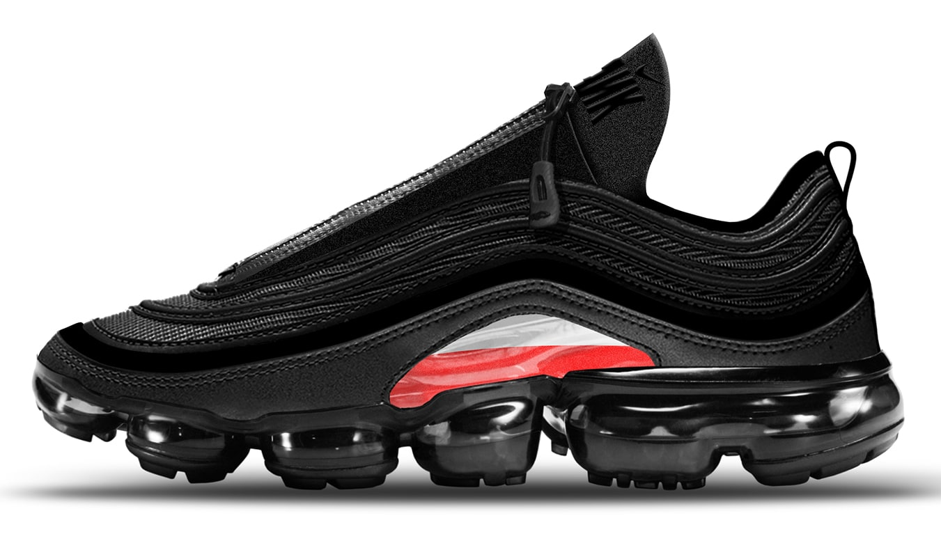 5a19c89ea316f8 DISCUSSION Discussion  This was Artemy Lebedev s design of an Air Max 97  Vapormax hybrid for the 2017 Air Max day contest