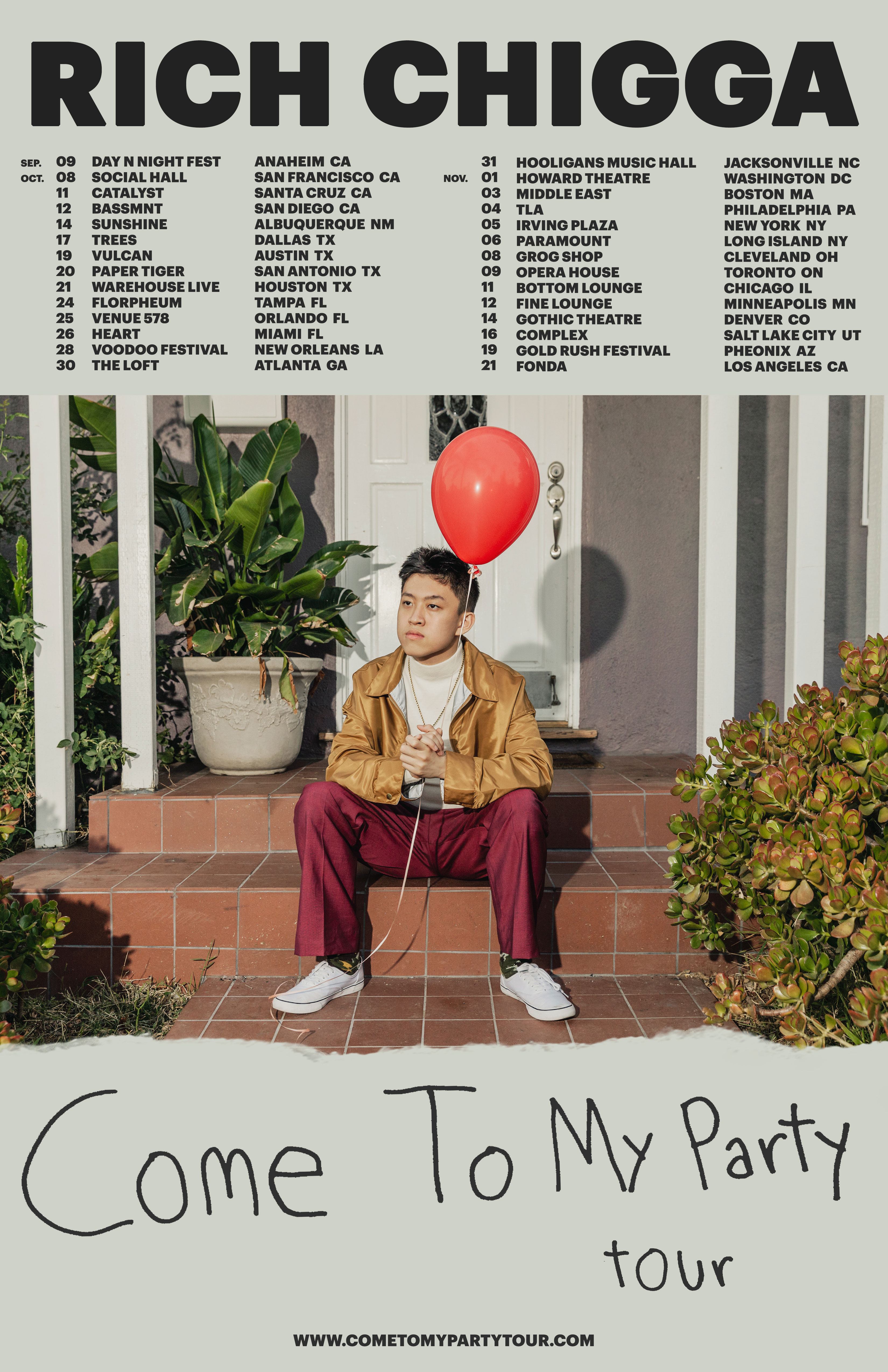 Rich Chigga Tour
