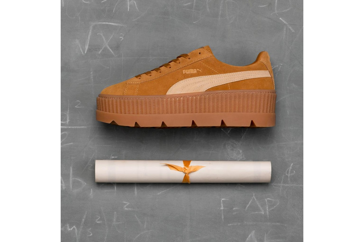 premium selection 812a0 5abcd Rihanna x PUMA Fenty Cleated Creeper Gets Release Date
